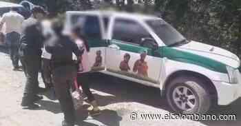Rescatan hermanos que habrían sido víctimas de abuso sexual en Abejorral - El Colombiano