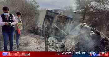 Muere calcinado chofer de trailer en Tula - Hoy Tamaulipas