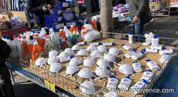 Coronavirus : 40 000 masques périmés saisis à Maisons-Alfort - La Provence