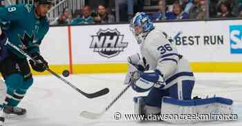 Sharks beat Maple Leafs 5-2 for 3rd straight win - Dawson Creek Mirror