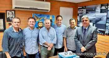 Deputado Júlio Arcoverde recebe prefeito Diego Teixeira - Somos Notícia