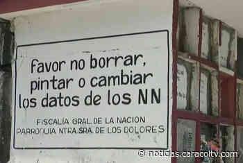 JEP busca identificar cuerpos enterrados como N.N. en Puerto Berrío, Antioquia - Noticias Caracol