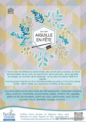 Salon Aiguille en fête Parking Rue du Roussillon - Unidivers
