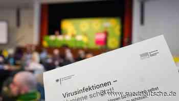 Krankheiten - Annaberg-Buchholz - Vorbeugen gegen Coronavirus auf dem Grünen-Parteitag - Süddeutsche Zeitung