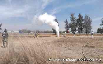 Causa alerta fuga de gas LP en Acajete y Amozoc - El Sol de Puebla