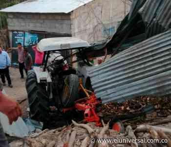Accidente en vía Corozal- Los Palmitos deja un muerto - El Universal - Colombia
