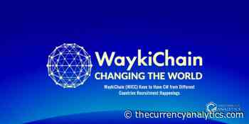 WaykiChain (WICC) Keen to Have CM from Different Countries Recruitment Happenings - The Cryptocurrency Analytics