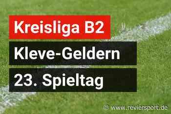 TSV Wachtendonk II weiter in der Erfolgsspur - RevierSport