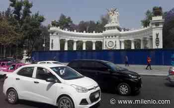 Por marcha de 8 de marzo, CdMx coloca tapiales en monumentos - Milenio