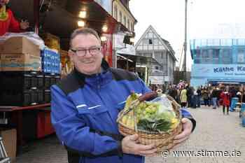 Hamburger Fischmarkt macht noch bis Sonntag in Neckarsulm Station - Heilbronner Stimme