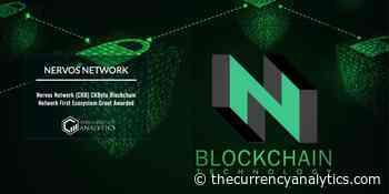 Nervos Network (CKB) CKByte Blockchain Network First Ecosystem Grant Awarded - The Cryptocurrency Analytics