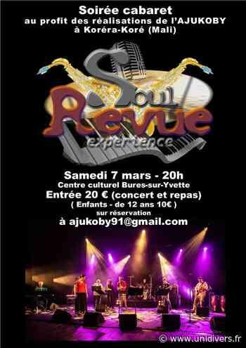 SOUL REVUE EXPERIENCE Centre Culturel Marcel Pagnol Bures-sur-Yvette 7 mars 2020 - unidivers.fr