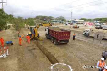 Piura: Gobierno financiará proyecto de agua y desagüe en provincia de Sechura - Agencia Andina