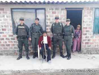 Atención humanitaria para adultos mayores en Imués - Diario del Sur