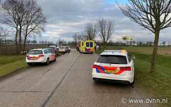 Weg tussen Noordbroek en Zuidbroek dicht na ongeluk - Dagblad van het Noorden