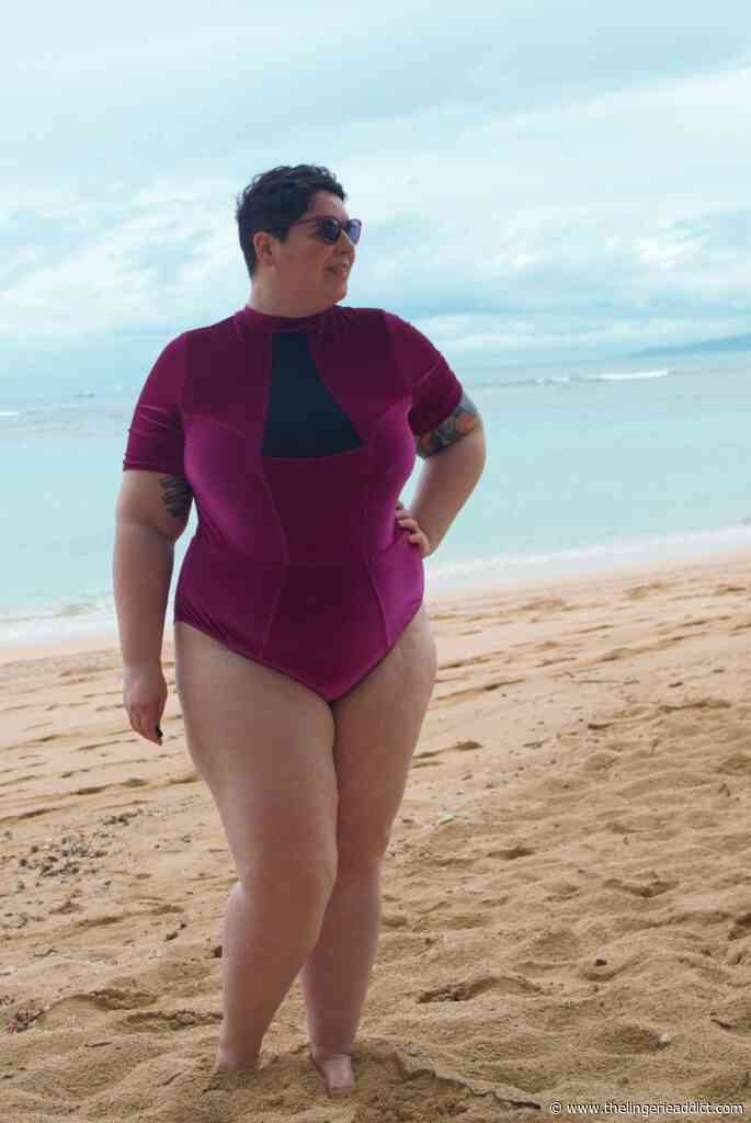 Plus Size Swimwear Review: Chromat Tidal II Suit