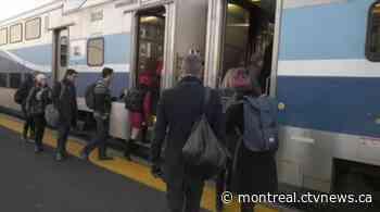 Exo4 Candiac to Montreal train line resumes service - CTV News