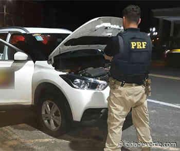 Motorista é preso em Parnaíba com carro roubado em Teresina - Parnaiba - Cidadeverde.com