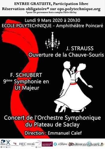 Concert de l'Orchestre Symphonique École polytechnique - Unidivers