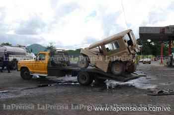 Temor a incendio se vivió en Sarare tras accidente de gandola - La Prensa de Lara