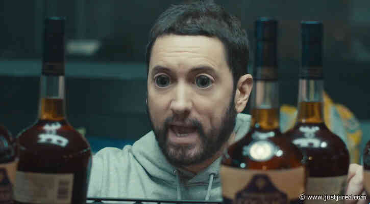 Eminem Hallucinates Off of 'Godzilla' Whiskey in New Music Video - Watch!