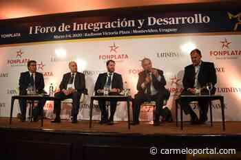 Ministro Heber destacó relevancia del puerto de Nueva Palmira en la hidrovía - Carmelo Portal