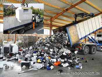 Illegale Schrottsammler in Bad Driburg aufgeflogen - Radio Hochstift