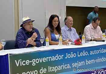 Leão lança Sheila Varela em Itaparica - Bahia No Ar!
