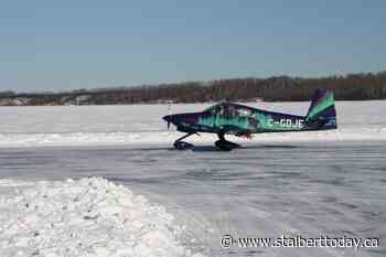 Beyond Local: Pilots who landed on frozen Lac La Biche lake set event record - St. Albert Today