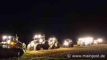 Helmstadt: Bauern demonstrieren gegen 'Marktmacht' von Aldi - Main-Post