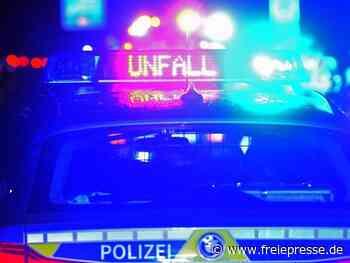 Drei Schwerverletzte nach Unfall auf B173 bei Freiberg - Freie Presse