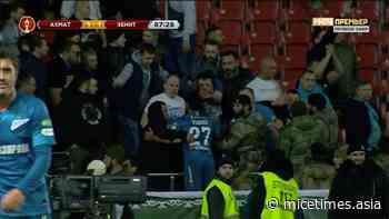 In Grozny Zenit fans stripped to the waist and barely escaped the massacre - www.MICEtimes.asia