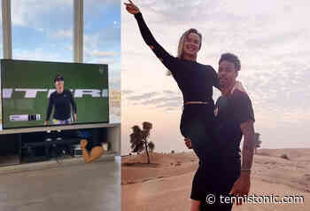 Svitolina's boyfriend, Gael Monfils, celebrates Elina's final in Monterrey on Instagram. VIDEO - Tennis Tonic