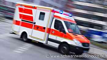 Dotternhausen: Unfall: Auto überschlägt sich - Dotternhausen - Schwarzwälder Bote