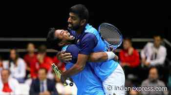 Leander Paes helps India win doubles before Marin Cilic seals Davis Cup tie - The Indian Express