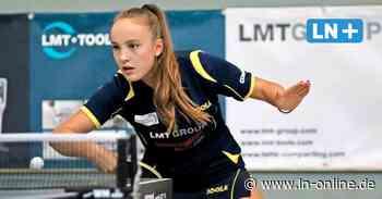Tischtennis, Abstiegskampf 3. Liga - Neue Hoffnung für Schwarzenbek-Damen - Lübecker Nachrichten
