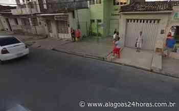 Acidente com idoso deixa trânsito parado na ladeira da Chã de Bebedouro, em Maceió - Alagoas 24 Horas