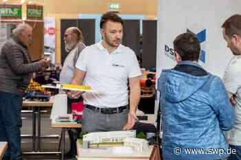 Salach: Handwerkermesse: Aussteller präsentieren sich in der Stauferlandhalle - SWP