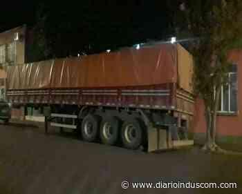 Caminhão é recuperado pela PM nos Campos Gerais - Diário Indústria&Comércio