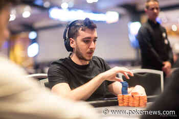 Naor Slobodskoy Eliminated in 8th Place (€4365) - PokerNews.com
