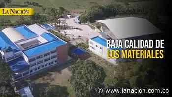 Investigan fallas en megacolegio de Saladoblanco • La Nación - La Nación.com.co