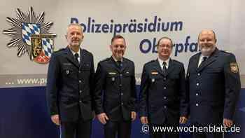 PHK Schmitt ist neuer Leiter: Amtswechsel bei der Polizeiinspektion Neunburg vorm Wald - Wochenblatt.de