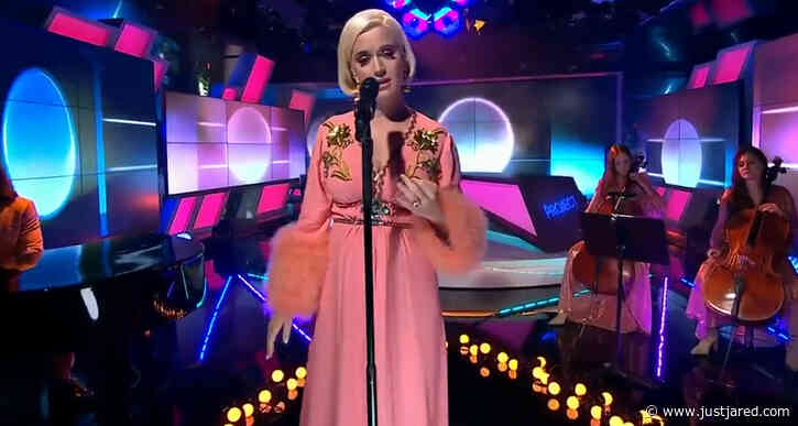 Pregnant Katy Perry Performs 'Never Worn White' for First Time on 'The Project' - Watch Here!