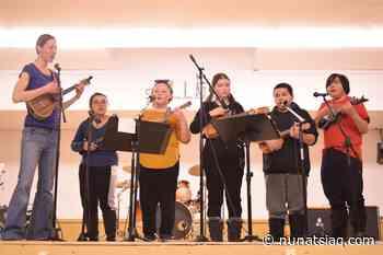 Kuujjuaq's school ukulele club tours several Nunavik communities - Nunatsiaq News