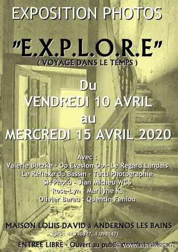 Exposition collectif de prhotographes Andernos-les-Bains, 9 avril 2020 - Unidivers