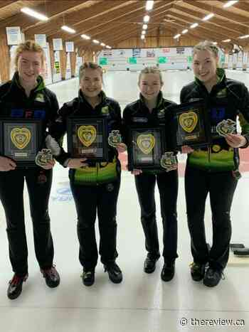 Vankleek Hill curler on her way to Canadian U18 championship - The Review Newspaper