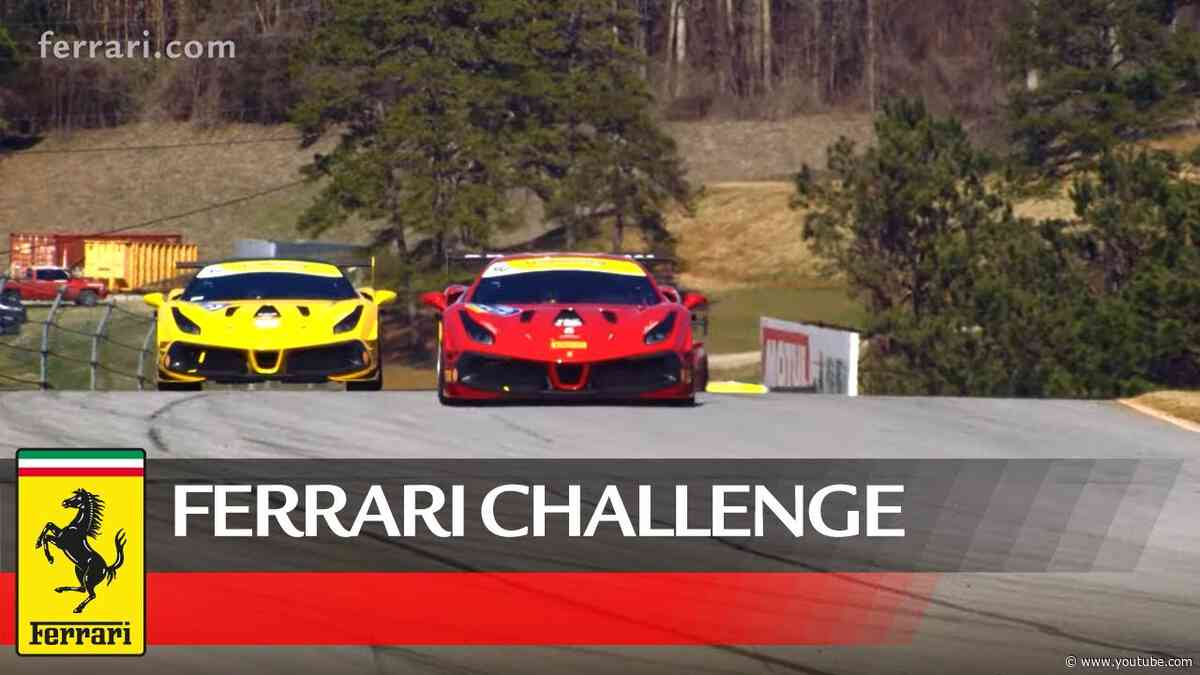 Ferrari Challenge North America - Road Atlanta 2020, Coppa Shell Race 1