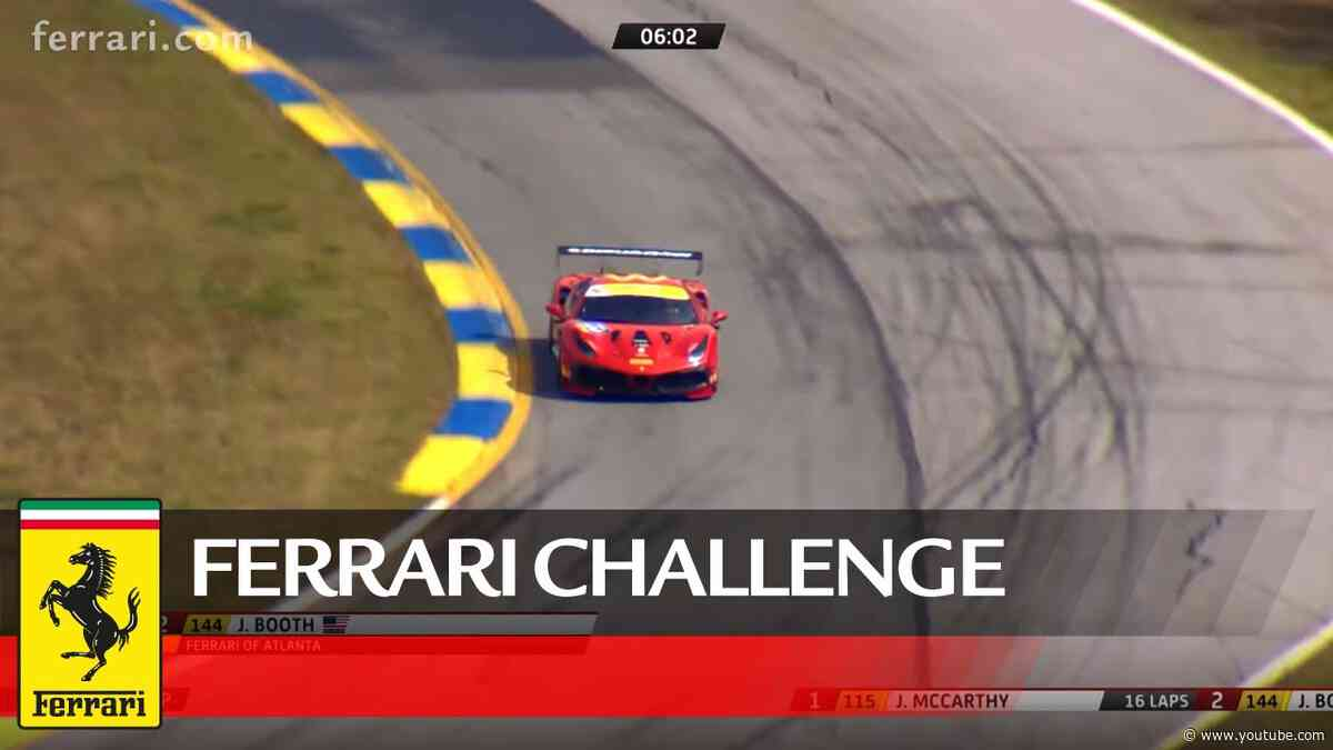 Ferrari Challenge North America - Road Atlanta 2020, Coppa Shell Race 2