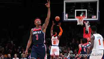 Bradley Beal's hot streak continues, scores 40 to lift Wizards past Knicks (VIDEO)