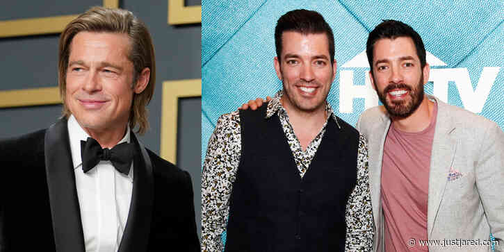 Brad Pitt, Viola Davis, Melissa McCarthy & More Team Up With Property Brothers For New Show 'Celebrity IOU'